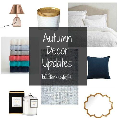 Autumn Decor Update