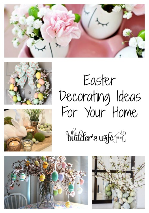 home decorating ideas for easter easter decorating ideas for your home the builder s 12691