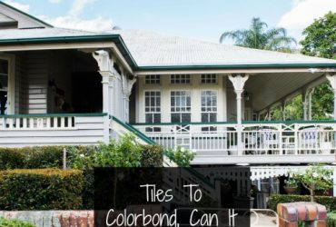 Changing Your Roof From Tiles To Colorbond