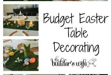 My Budget Easter Table