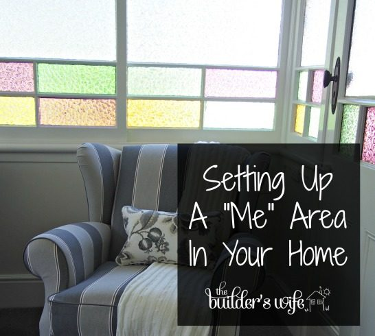 "4 Tips For Setting Up A ""Me"" Area In Your Home"