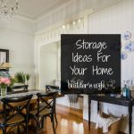 5 Home Storage Ideas For Homes Low On Space