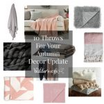 10 Throws For Your Autumn Decor Update
