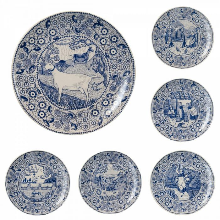blue and white plates ceramic plates wall art