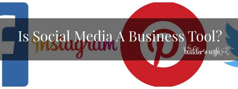 Is Social Media A Business Tool?
