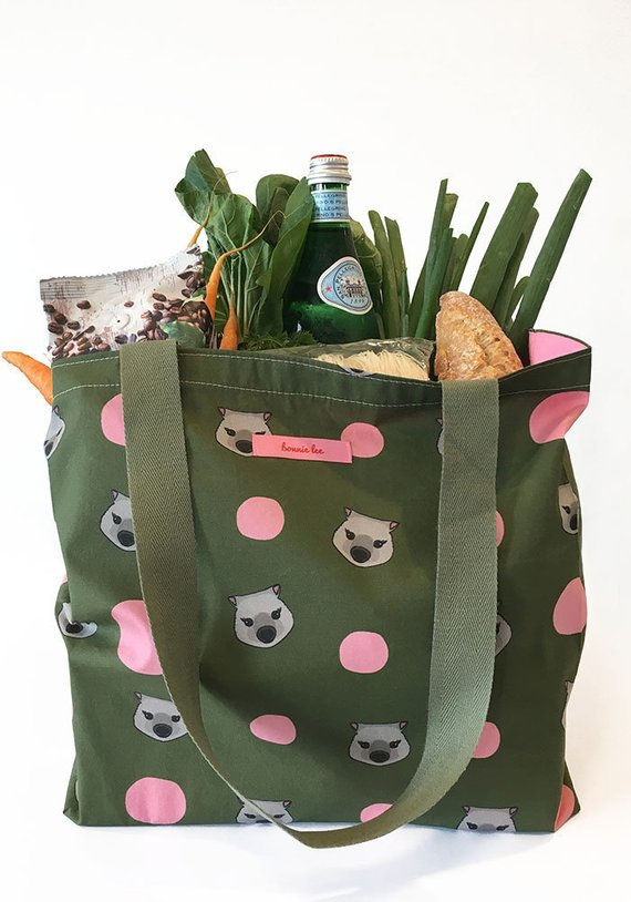 reusable shopping bag, shopping bag, reusable bag