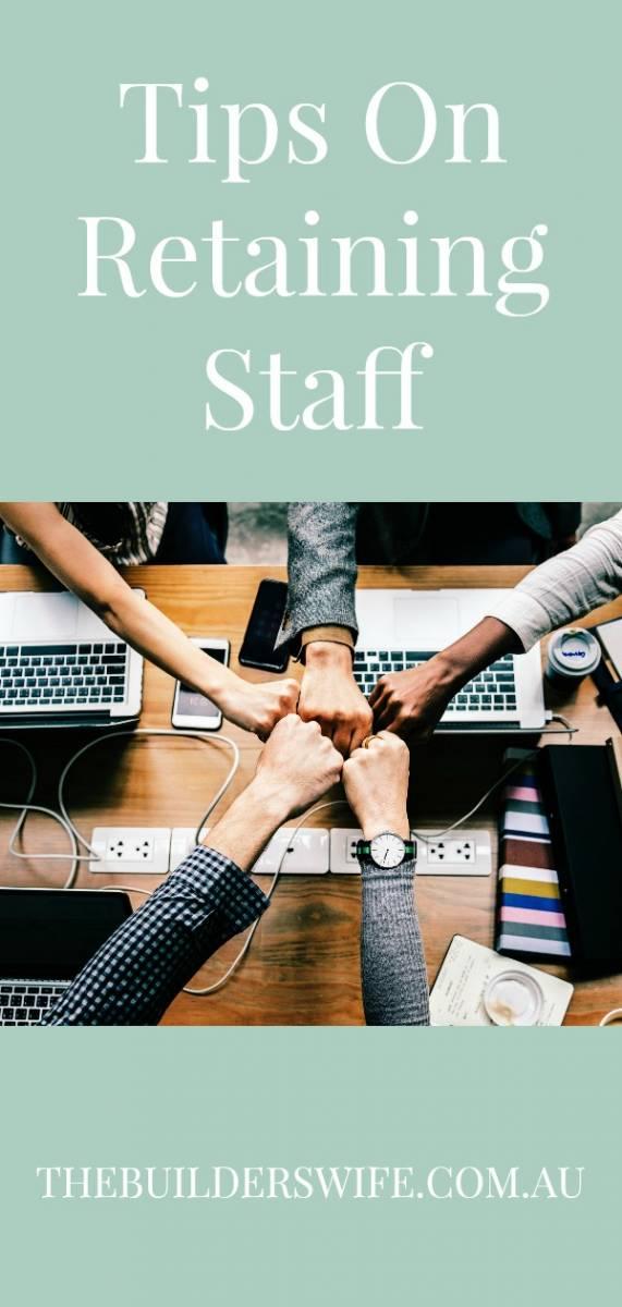 retaining staff